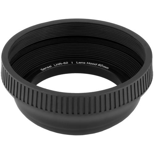 Sensei 62mm Collapsible Rubber Lens Hood