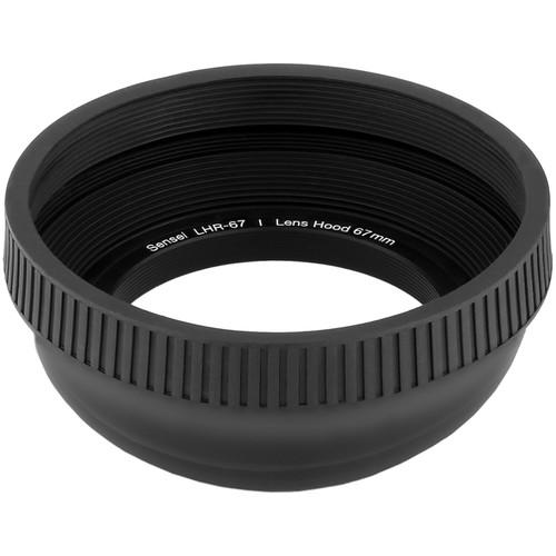 Sensei 67mm Collapsible Rubber Lens Hood
