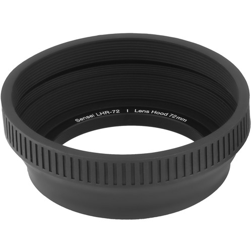Sensei 72mm Collapsible Rubber Lens Hood