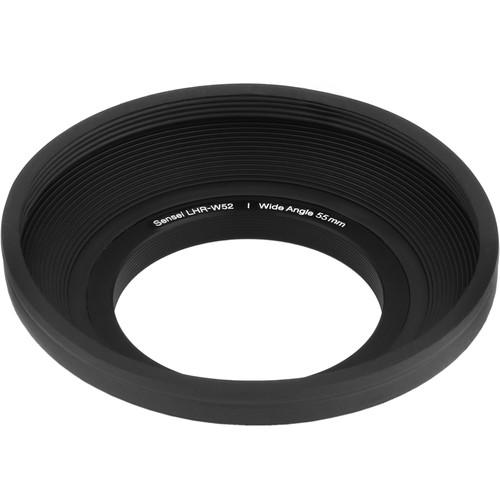 Sensei 52mm Wide Angle Rubber Lens Hood