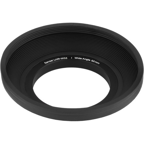 Sensei 55mm Wide Angle Rubber Lens Hood