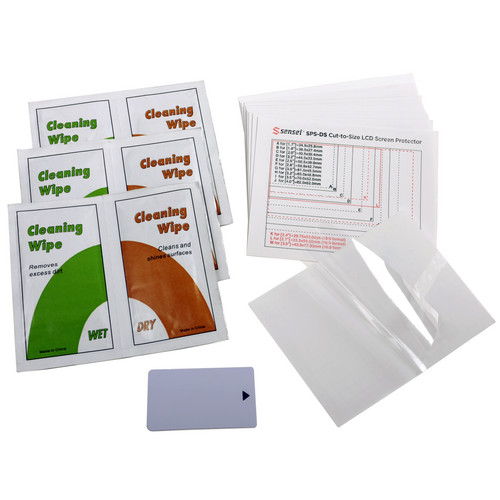 Sensei Cut-to-Size Soft LCD Screen Protector (12 Pack)