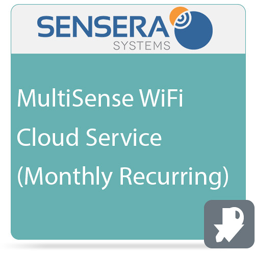 Sensera MultiSense WiFi Cloud Service (Monthly Recurring)