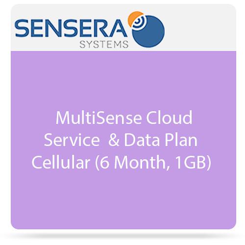 Sensera MultiSense Cloud Service & Data Plan - Cellular ( 6 Months, 1GB)