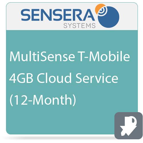 Sensera MultiSense T-Mobile 4GB Cloud Service (12-Month)