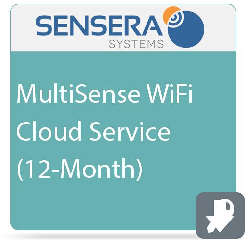 Sensera MultiSense WiFi Cloud Service (12-Month)