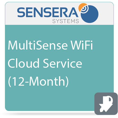 Sensera MultiSense WiFi Cloud Service (12-Month)