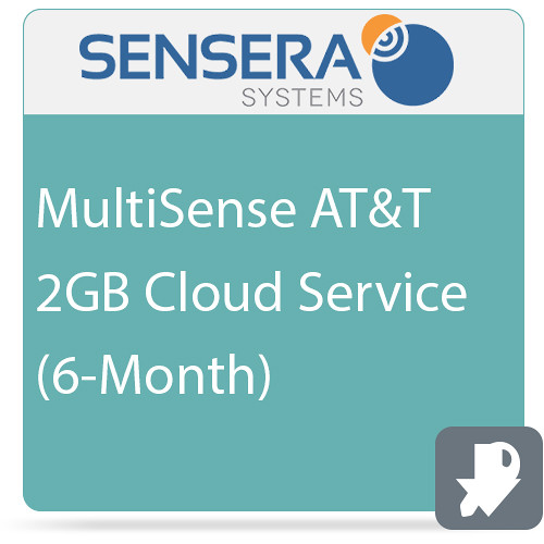 Sensera MultiSense AT&T 2GB Cloud Service (6-Month)