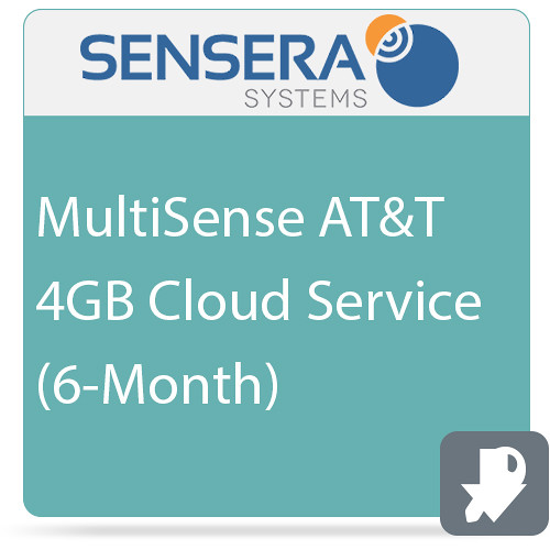 Sensera MultiSense AT&T 4GB Cloud Service (6-Month)