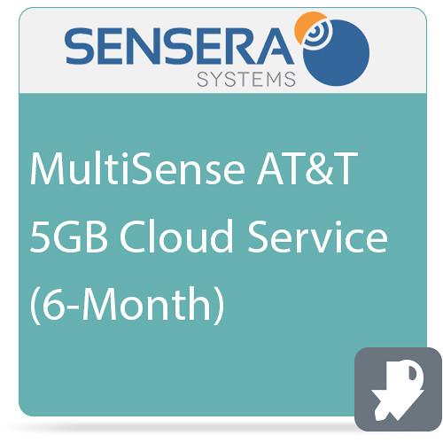 Sensera MultiSense AT&T 5GB Cloud Service (6-Month)