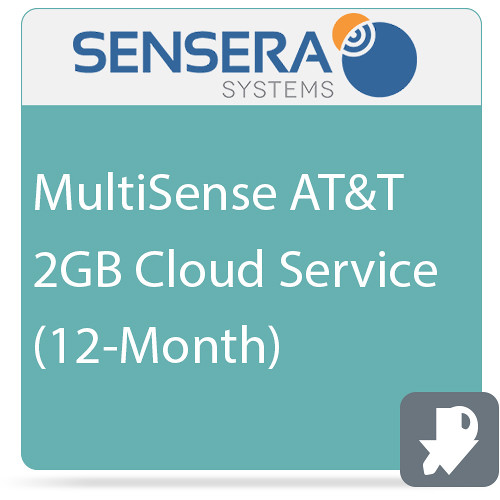 Sensera MultiSense AT&T 2GB Cloud Service (12-Month)
