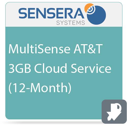 Sensera MultiSense AT&T 3GB Cloud Service (12-Month)