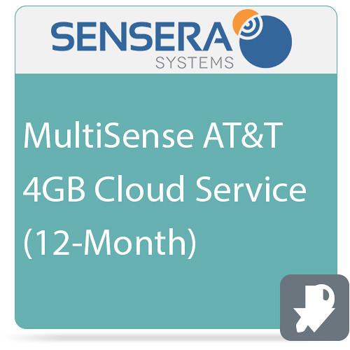 Sensera MultiSense AT&T 4GB Cloud Service (12-Month)