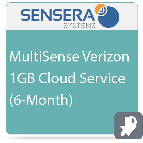 Sensera MultiSense Verizon 1GB Cloud Service (6-Month)