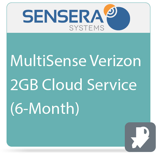 Sensera MultiSense Verizon 2GB Cloud Service (6-Month)