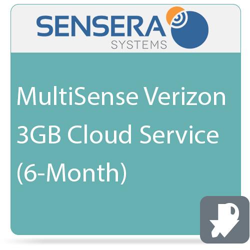Sensera MultiSense Verizon 3GB Cloud Service (6-Month)