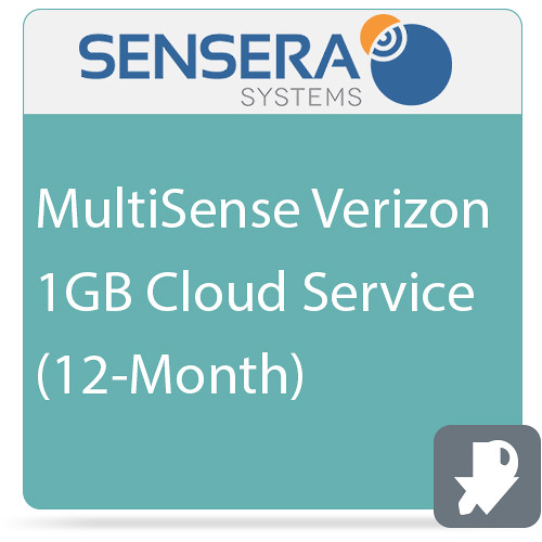 Sensera MultiSense Verizon 1GB Cloud Service (12-Month)