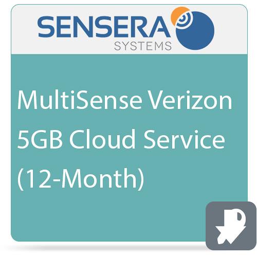 Sensera MultiSense Verizon 5GB Cloud Service (12-Month)
