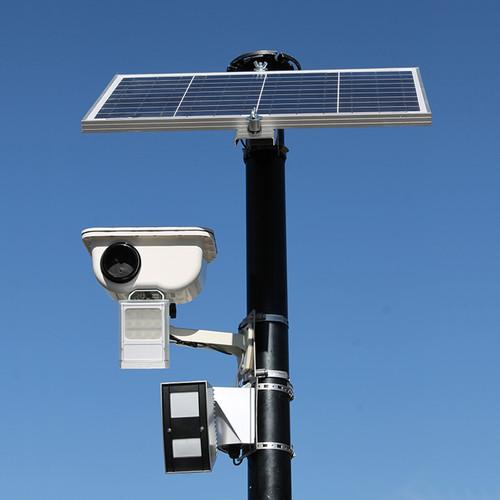 Sensera SiteWatch PRO Series Solar Wireless Site Security Camera (White Light, Verizon)