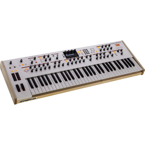 Sequential Prophet 12 LE Keyboard Synthesizer (White)