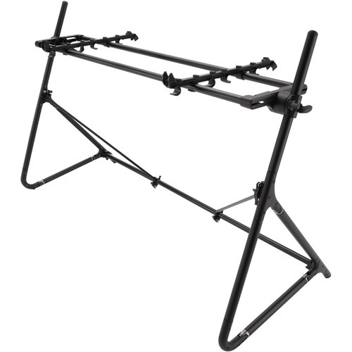 SEQUENZ Standard-L-ABK Keyboard Stand for 88-Note Keyboards (Black)