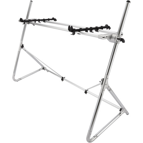 SEQUENZ Standard-L-SV Keyboard Stand for 88-Note Keyboards (Silver)