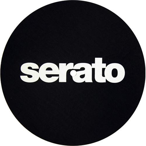"""Serato Butter Rug Slipmat (7"""", Single, White on Black)"""
