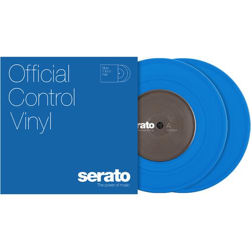 """Serato 7"""" Control Vinyl (Pair, Blue)"""