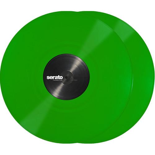 "Serato 12"" Control Vinyl (Pair, Green)"