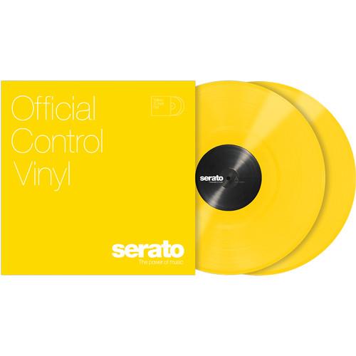 "Serato 12"" Control Vinyl (Pair, Yellow)"
