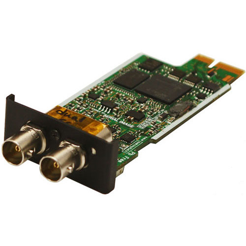 SERIAL IMAGE 3 Gb/s SDI Input Module with Loop-Through Output (Non-Reclocked)