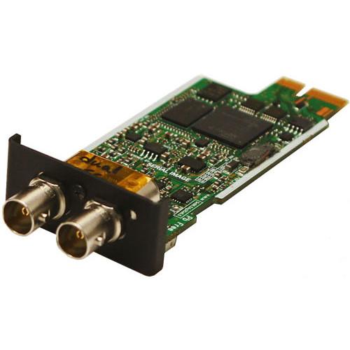 SERIAL IMAGE 3 Gb/s SDI Waveform / Vectorscope Output Module (Reclocked)