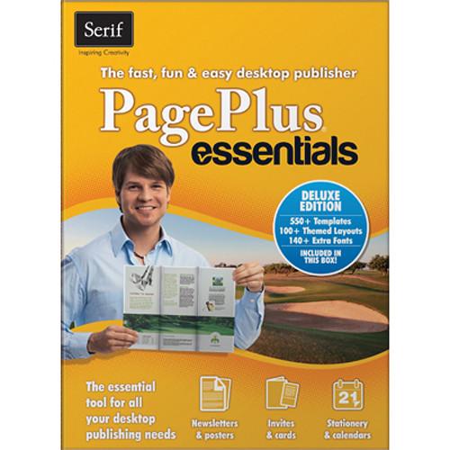 Serif PagePlus Essentials Deluxe Desktop Publishing Software
