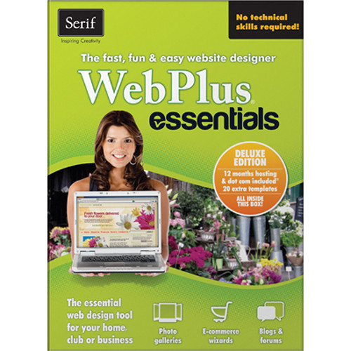 Serif WebPlus Essentials Deluxe Software (Download)
