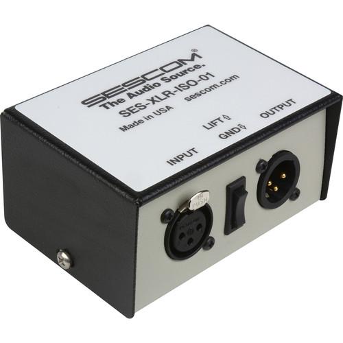 Sescom ES-XLR-ISO-01 Single-Channel XLR Audio-Isolation Transformer