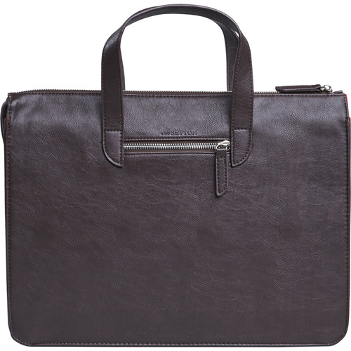 "Setton Brothers Elogio Slim Briefcase for 13"" Laptop (Brown)"