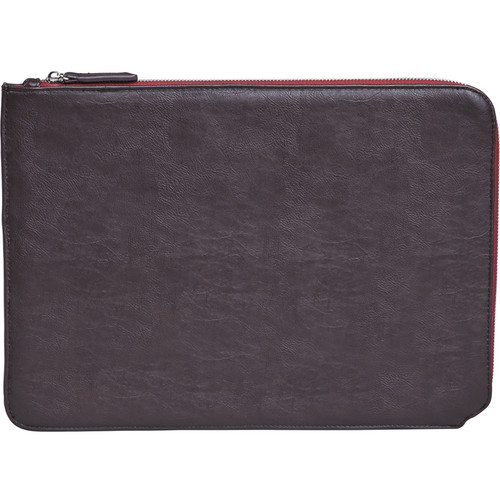 "Setton Brothers Faux Leather Sleeve for 13"" MacBook Air/Pro Retina (Brown)"