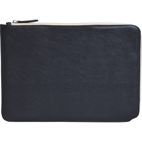 "Setton Brothers Faux Leather Sleeve for 13"" MacBook Air/Pro Retina (Black)"