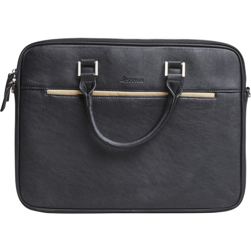"Setton Brothers Pintta Slim Lighweight Briefcase for 15"" Laptop (Black)"