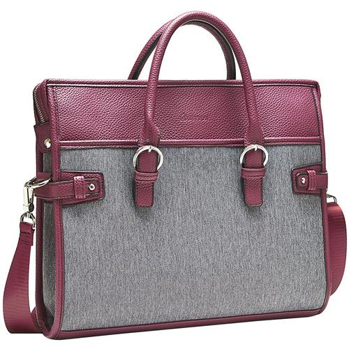 "Setton Brothers Vivere Bag for 14"" Laptop (Burgundy)"
