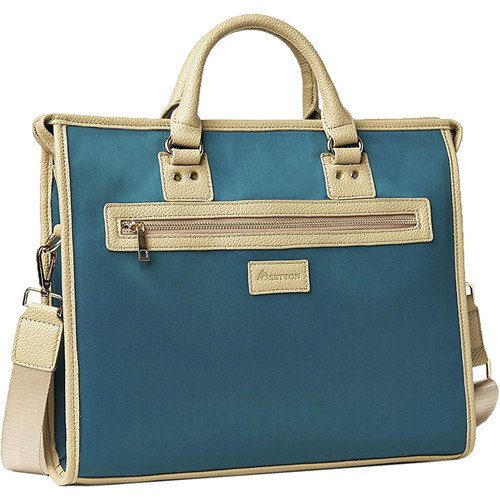 Setton Brothers Teal Laptop Briefcase
