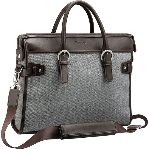 "Setton Brothers Computer Bag for 14"" Laptop (Gray)"