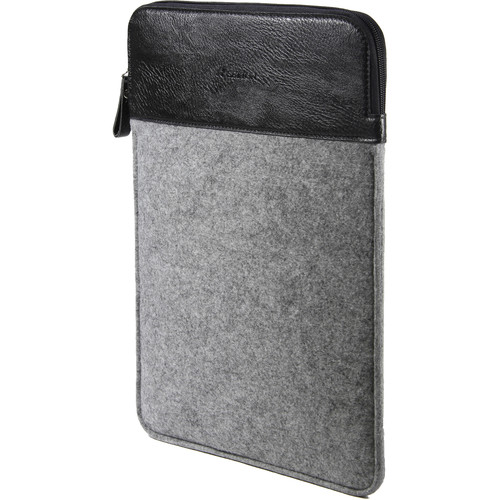 "Setton Brothers 13"" Wool Felt Sleeve for MacBook (Gray)"