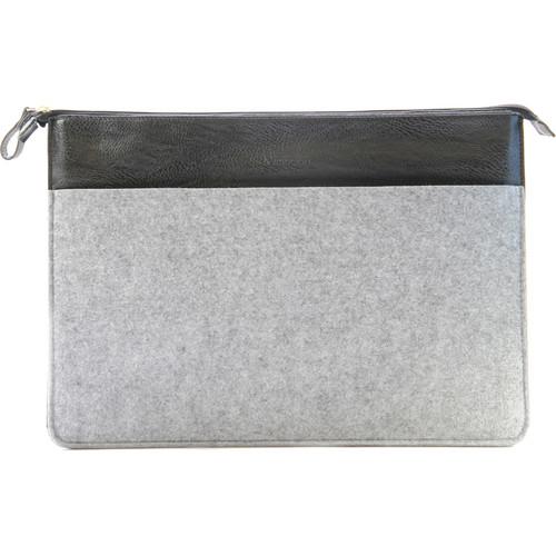 "Setton Brothers 15"" Wool Felt Sleeve for MacBook (Gray)"