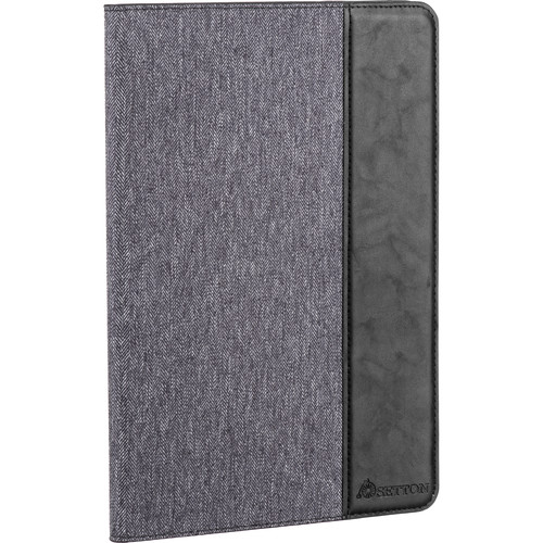 "Setton Brothers Case Ultra Slim with Smart Cover for Apple 9.7"" iPad Pro (Gray/Black)"