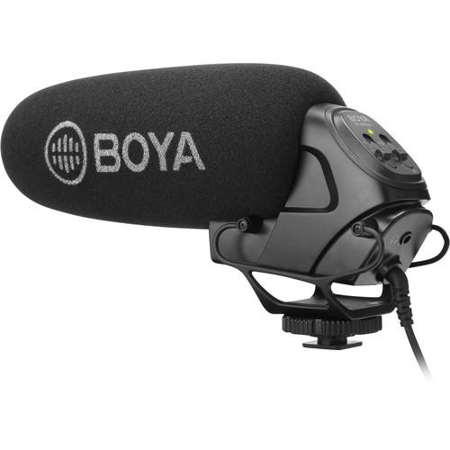 Sevenoak BY-BM3031 On-Camera Supercardioid Shotgun Microphone