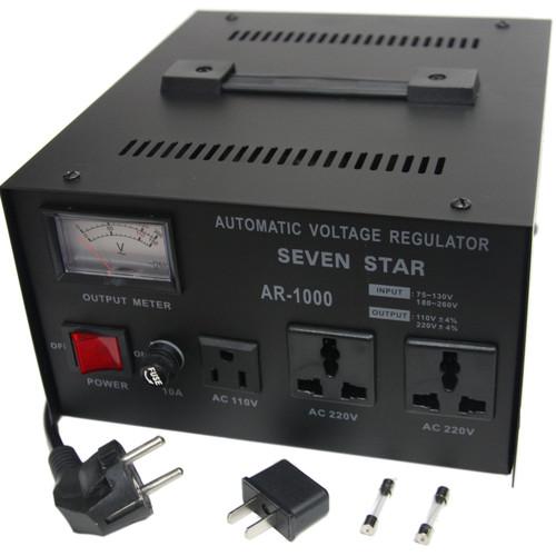 Sevenstar Voltage Regulator with Meter 1000 Watts