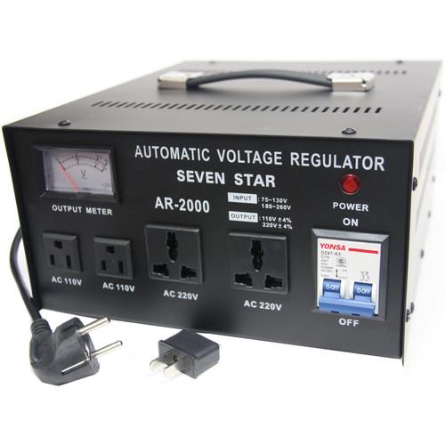 Sevenstar Voltage Regulator with Meter 2000 Watts