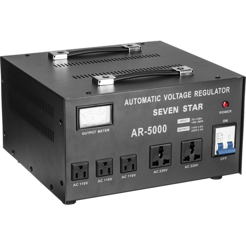 Sevenstar AR-5000 Step Up/Step Down Transformer with Regulator