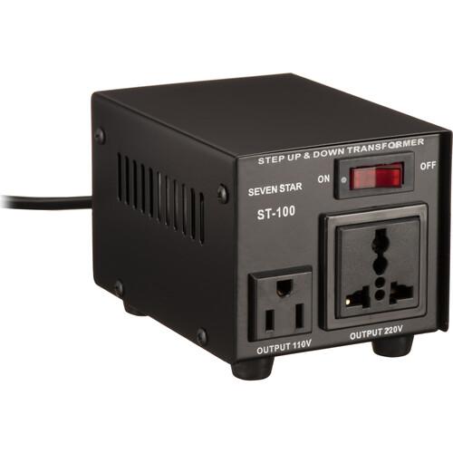 Sevenstar ST-100 Step Up/Step Down Transformer (100W)